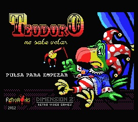 """Teodoro no sabe volar"" released ! Teodoro_msx1"